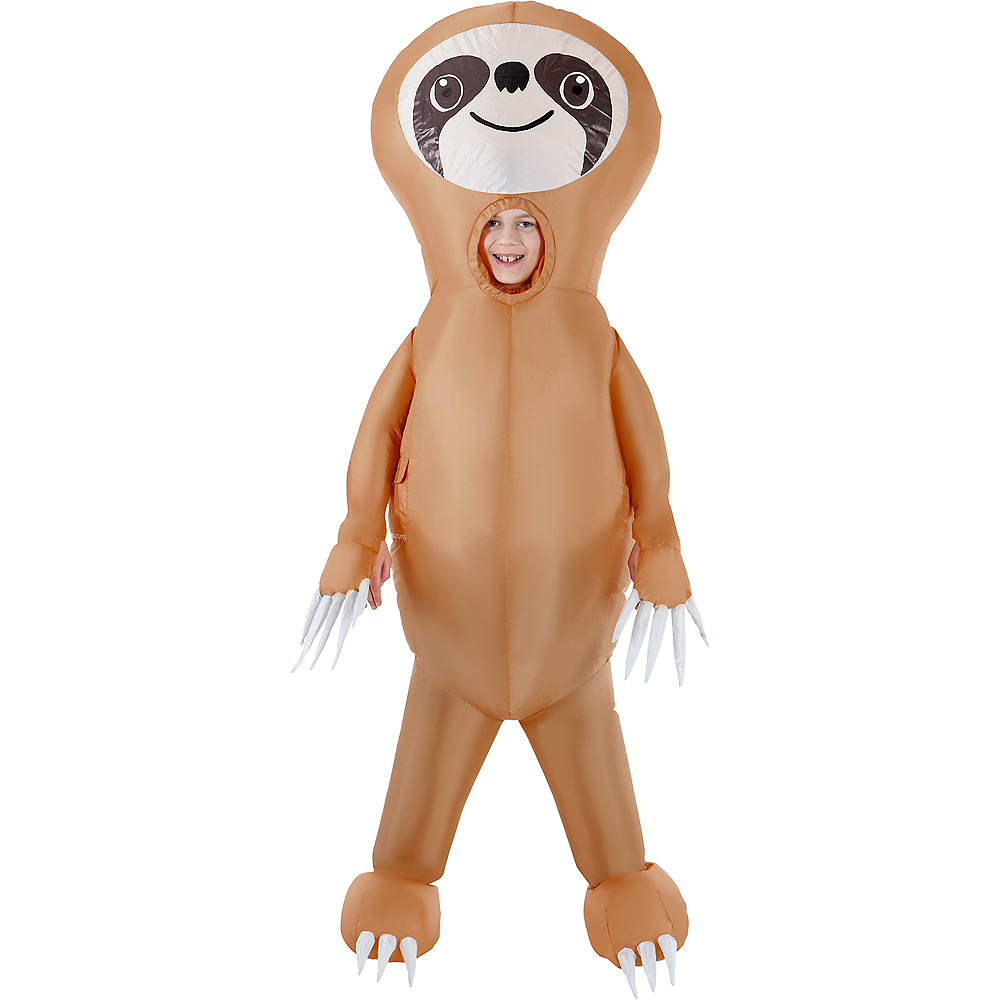 Child Inflatable Sloth Costume Image #1