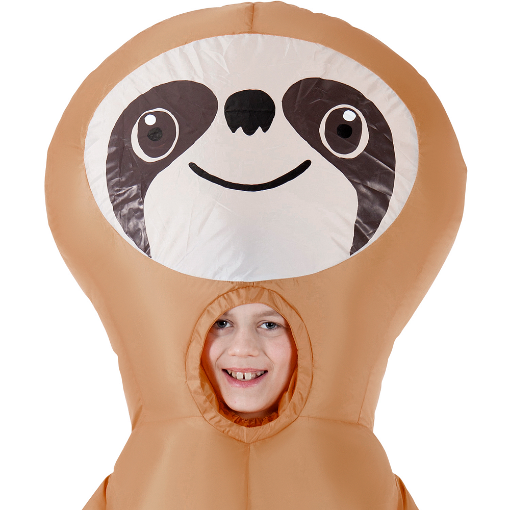 3c870048a71ed ... Child Inflatable Sloth Costume Image #2 ...