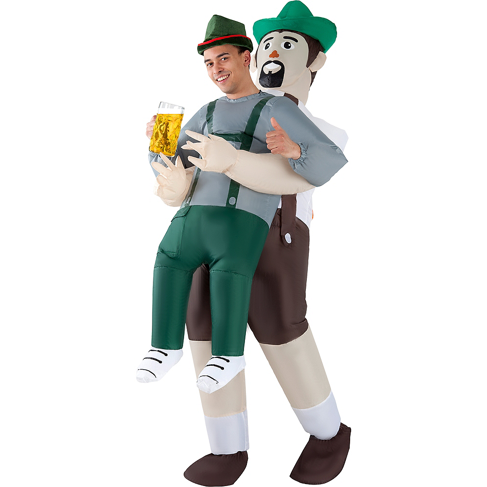 Adult Inflatable Oktoberfest Pick-Me-Up Costume Image #1