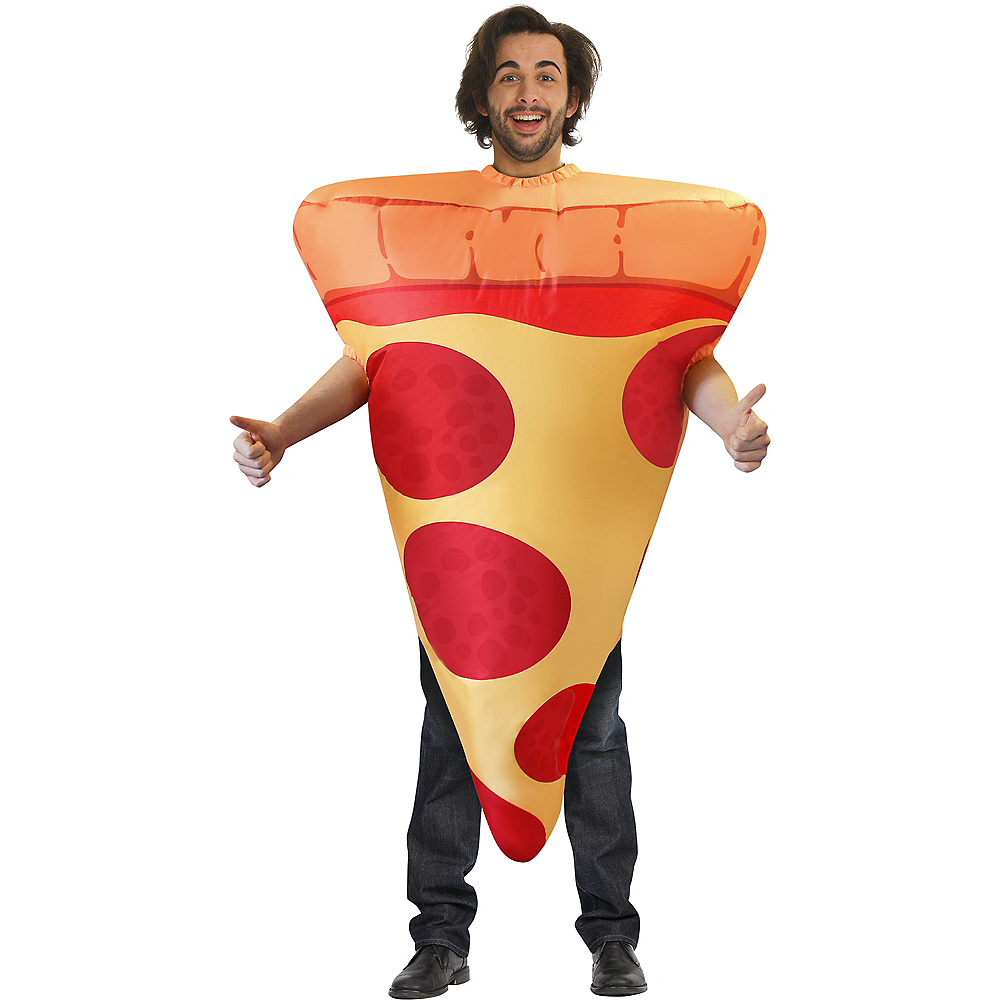 Adult Inflatable Pizza Costume Image #1