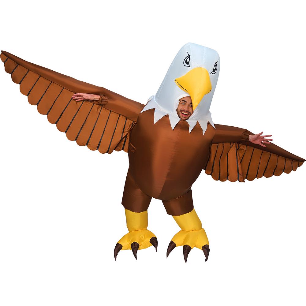 Adult Inflatable Giant Eagle Costume Image #2