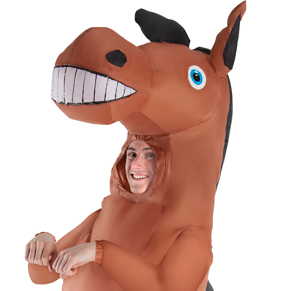Adult Inflatable Horse Costume Image #2