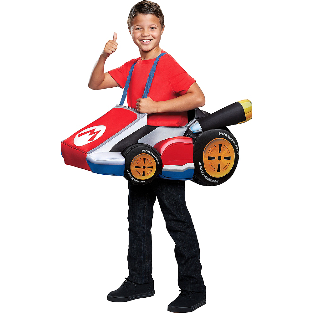 Child Mario Kart Ride-On Costume Image #1