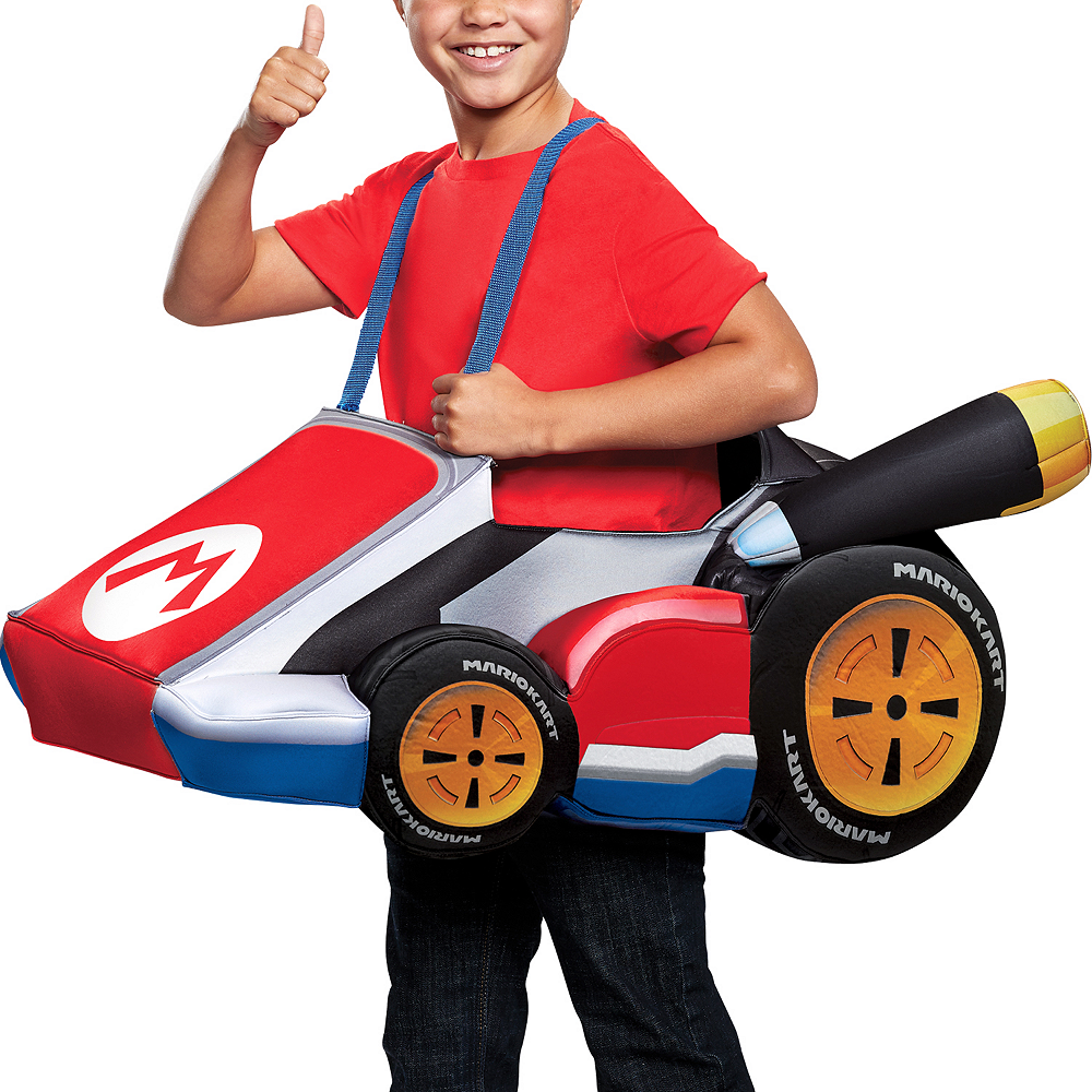 Child Mario Kart Ride-On Costume Image #2