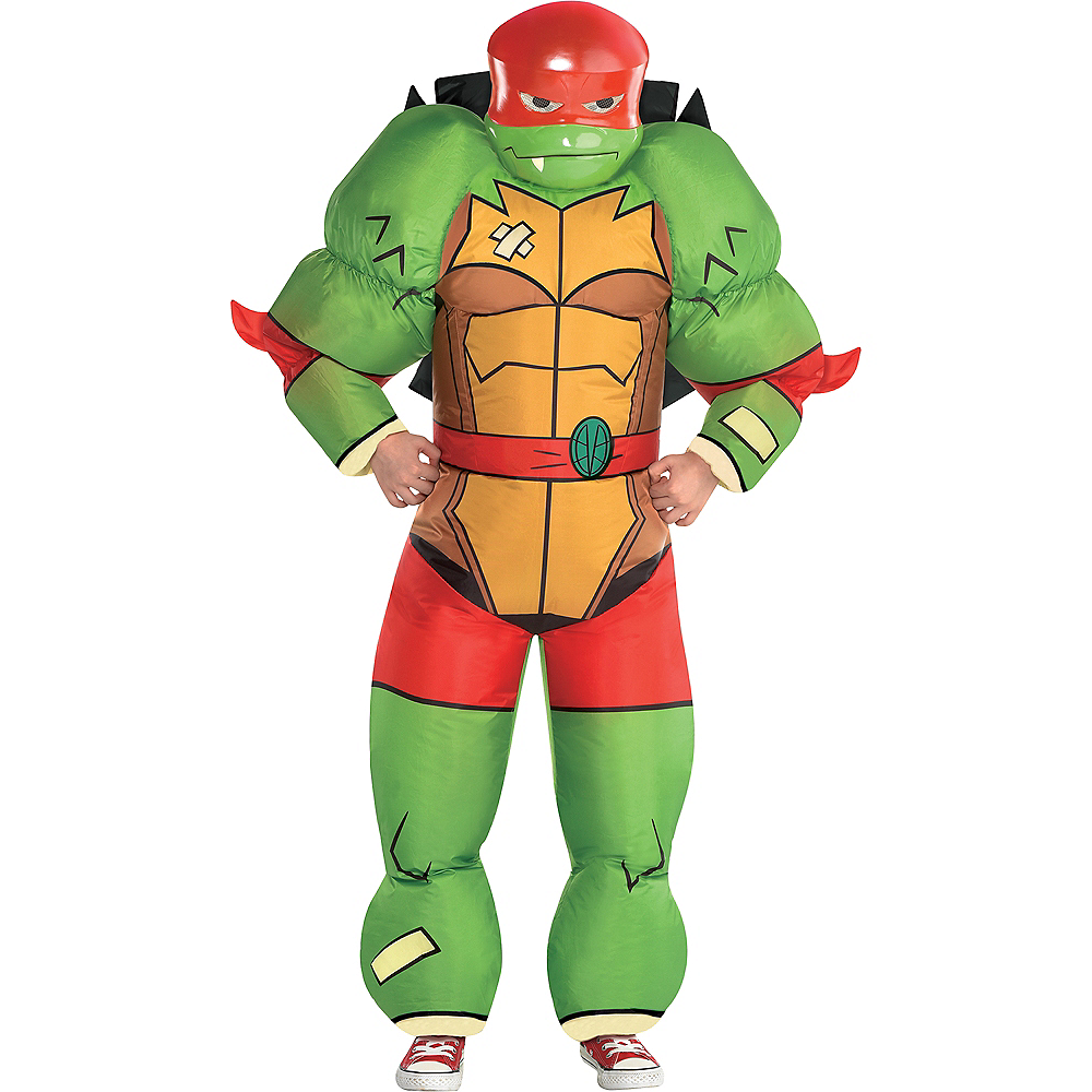 Nav Item for Boys Inflatable Raphael Costume - Rise of the Teenage Mutant Ninja Turtles Image #1