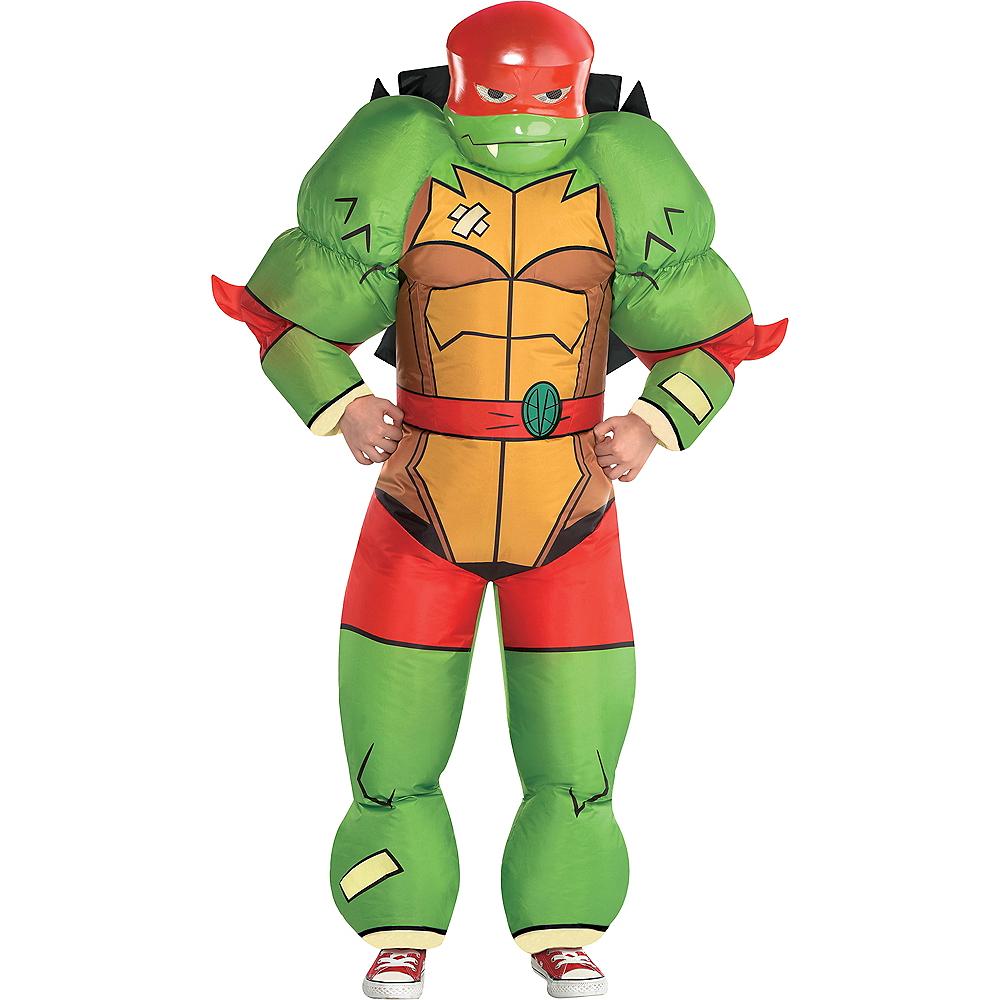 Boys Inflatable Raphael Costume - Rise of the Teenage Mutant Ninja Turtles Image #1