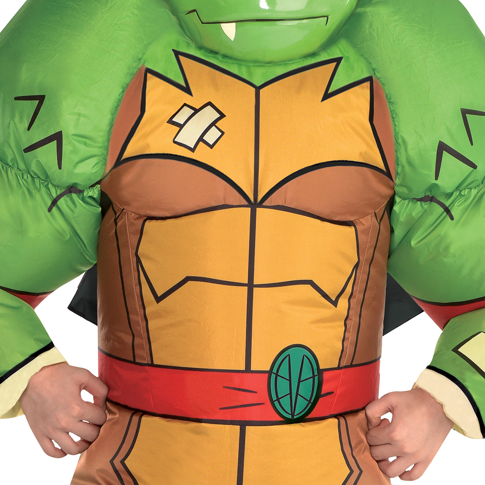 Boys Inflatable Raphael Costume - Rise of the Teenage Mutant Ninja Turtles Image #3
