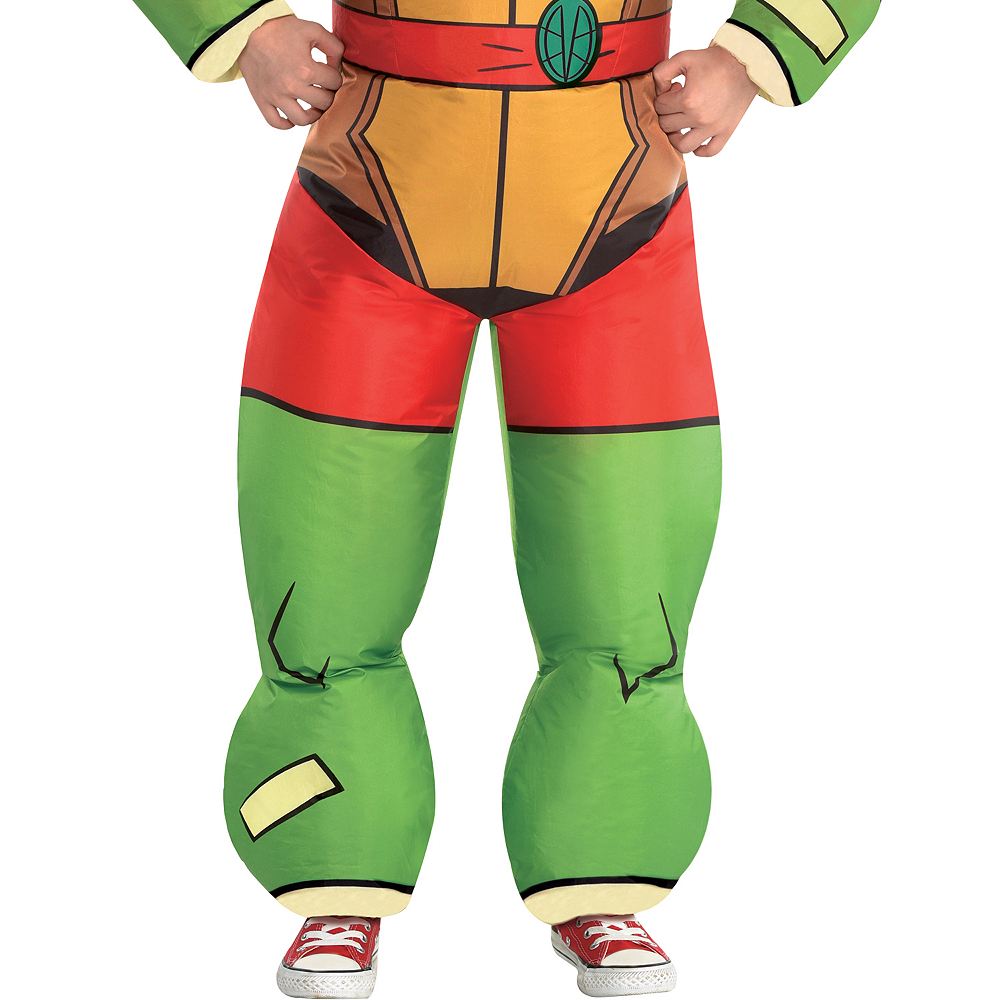 Boys Inflatable Raphael Costume - Rise of the Teenage Mutant Ninja Turtles Image #4