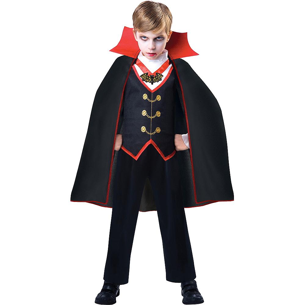 Boys Dracula Costume Image #1
