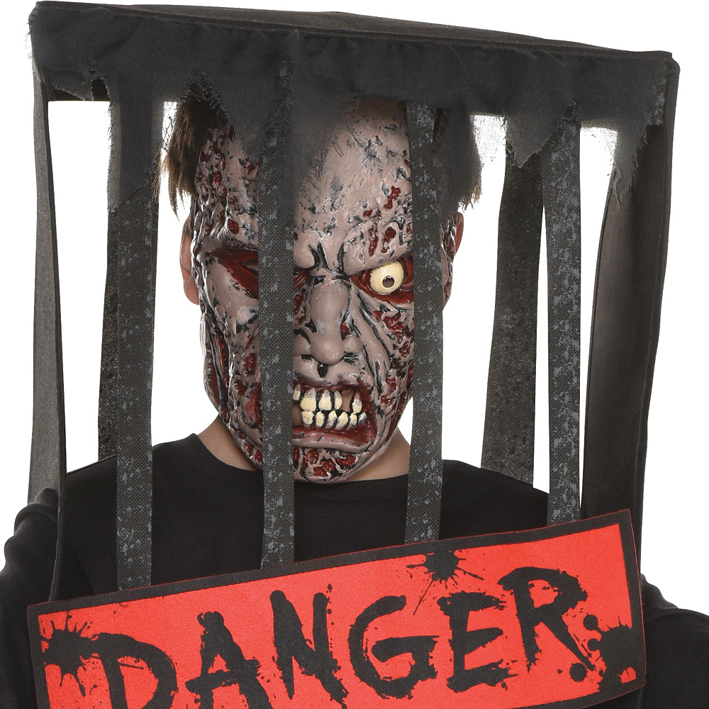 Boys Caged Zombie Costume Image #2