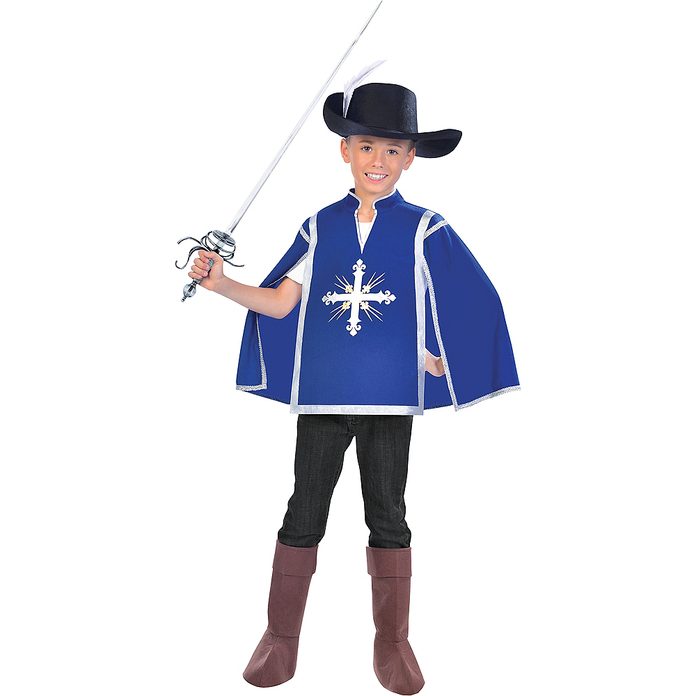 Boys Royal Musketeer Costume Image #1