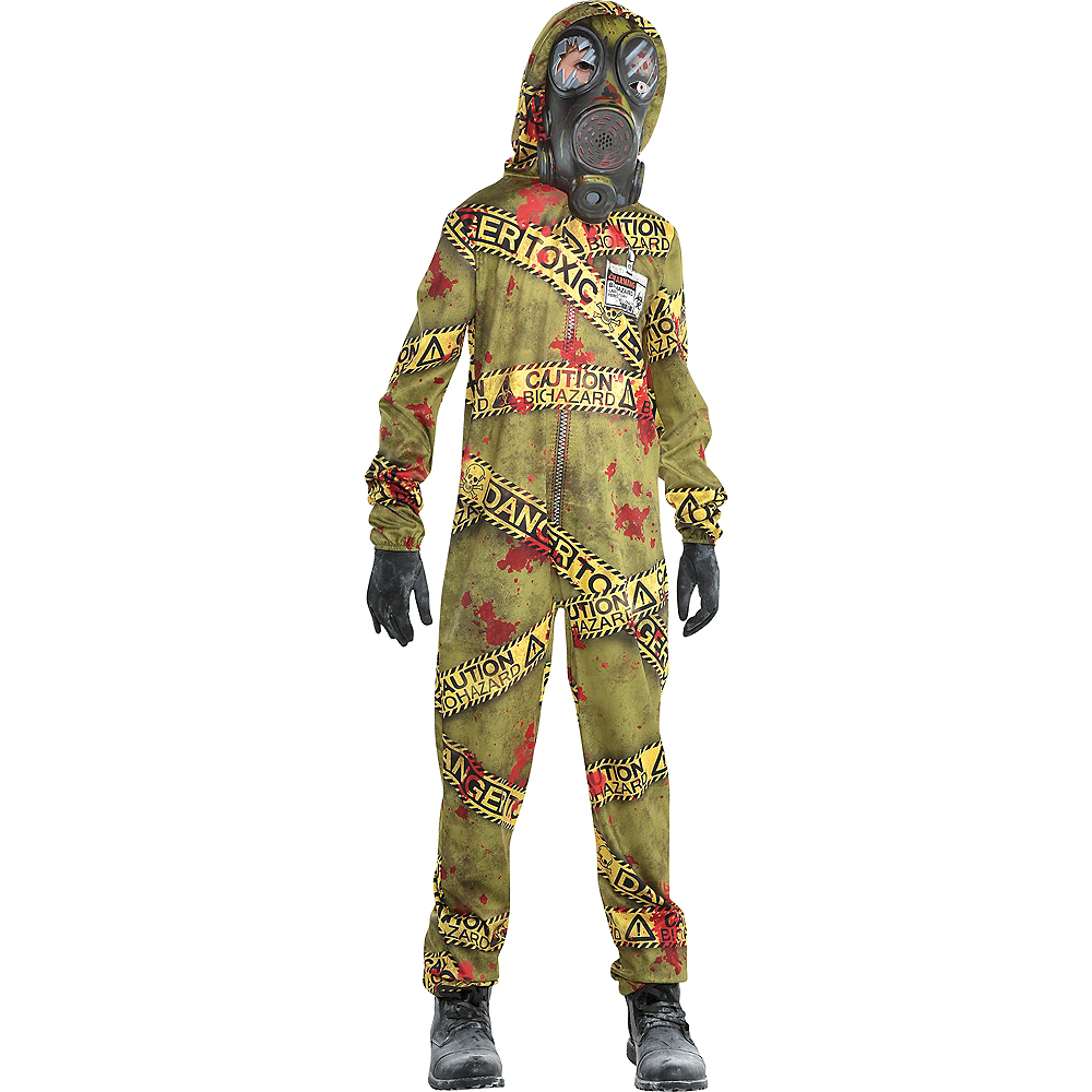 Nav Item for Boys Quarantine Zombie Costume Image #1