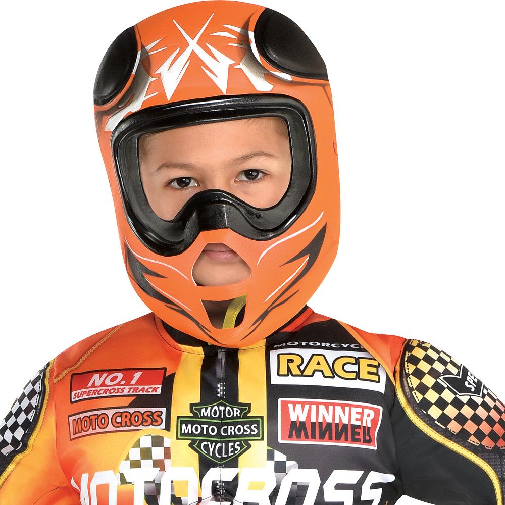 Boys Motocross Driver Costume Image #2