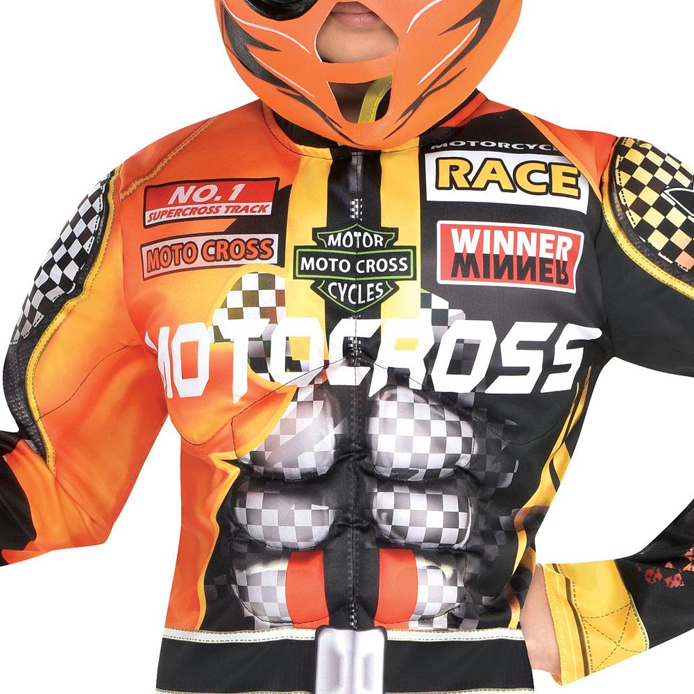 Boys Motocross Driver Costume Image #3
