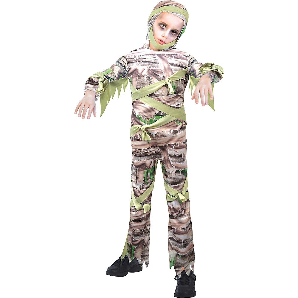 Boys Slimy Mummy Costume Image #1
