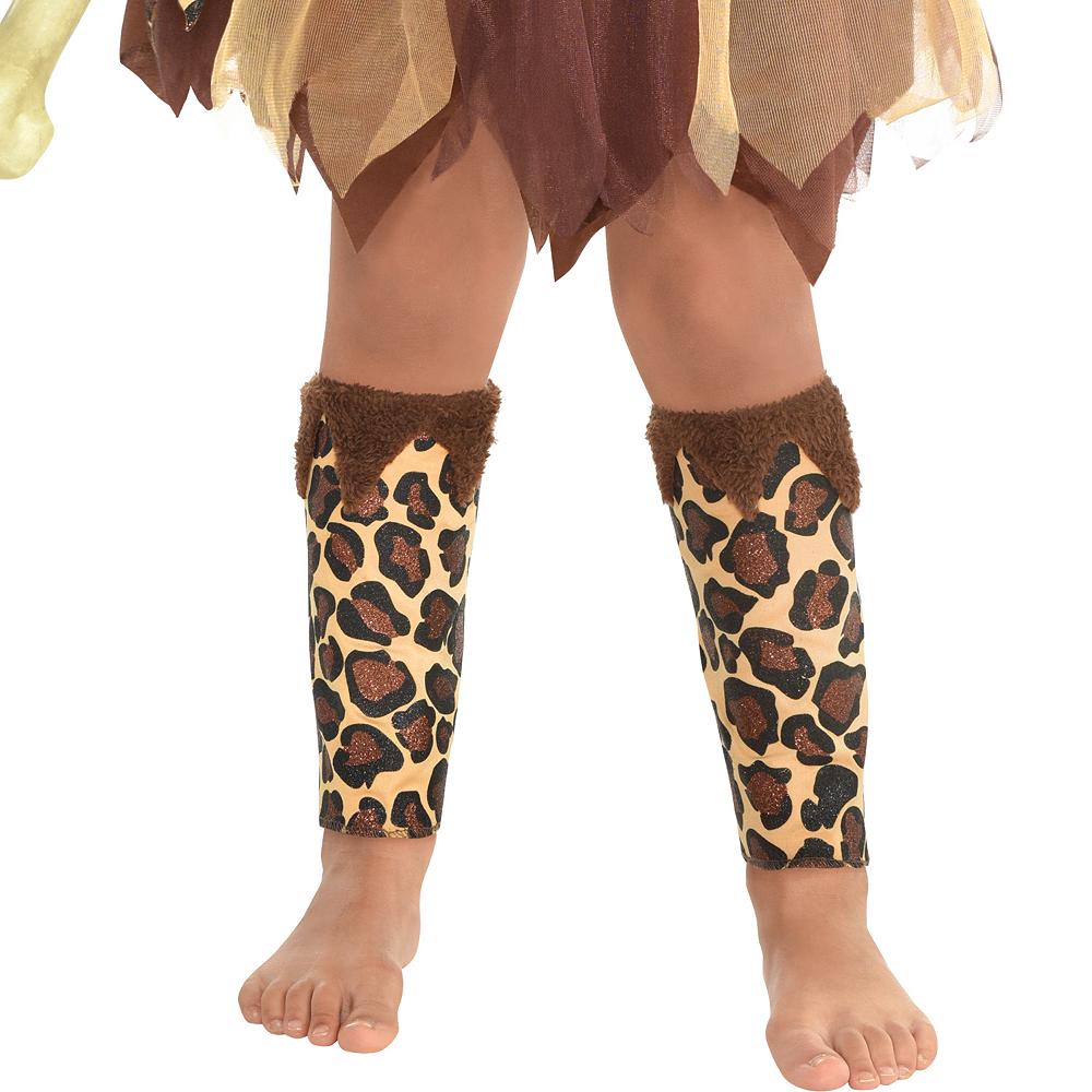 Girls Cavewoman Costume Image #4
