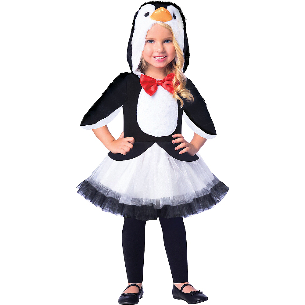 Girls Chill Out Penguin Costume Image #1