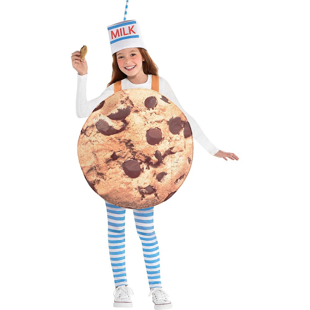 Girls Cookies & Milk Costume Image #1