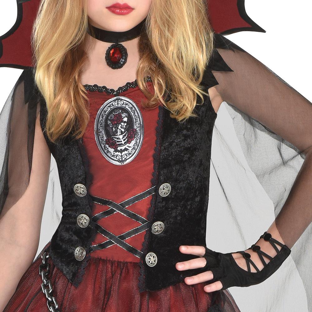 Girls Dark Vampire Costume Image #2