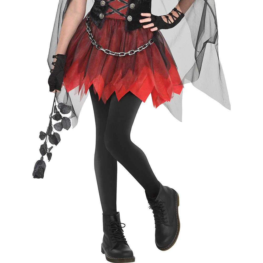 Girls Dark Vampire Costume Image #3