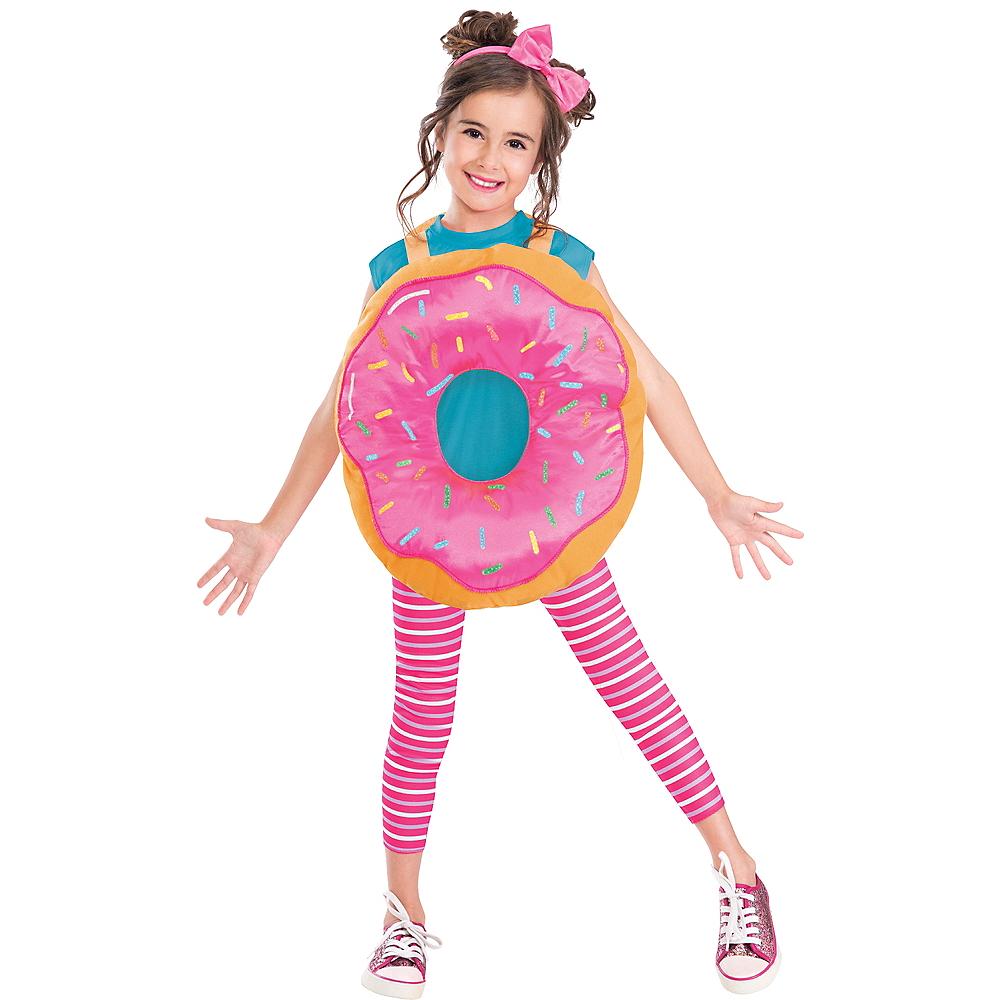Girls Delightful Donut Costume Image #1