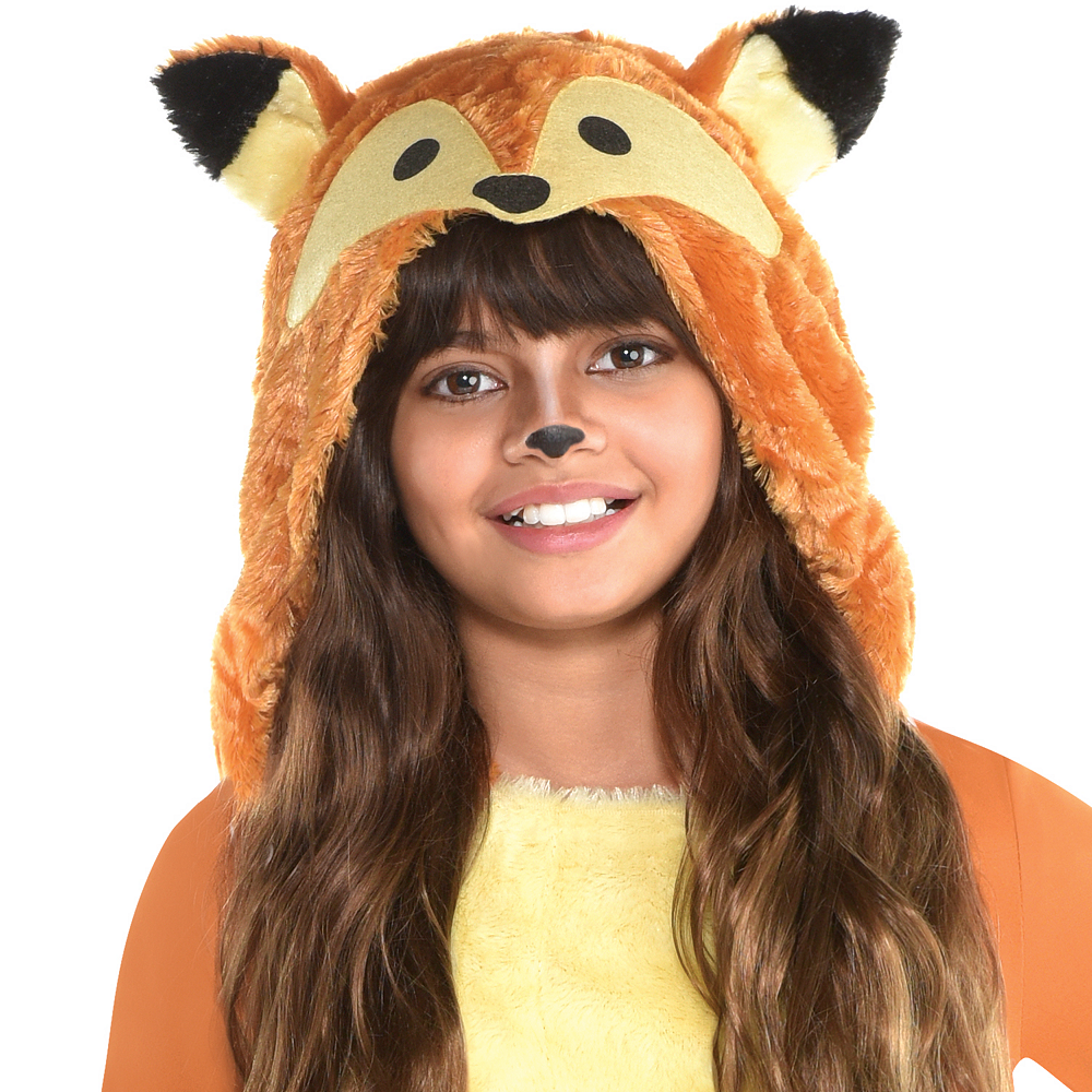 Girls Furry Fox Costume Image #2