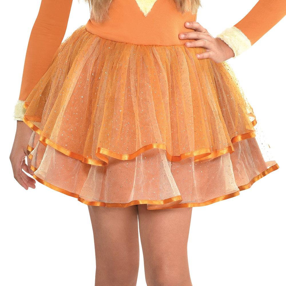 Nav Item for Girls Furry Fox Costume Image #4