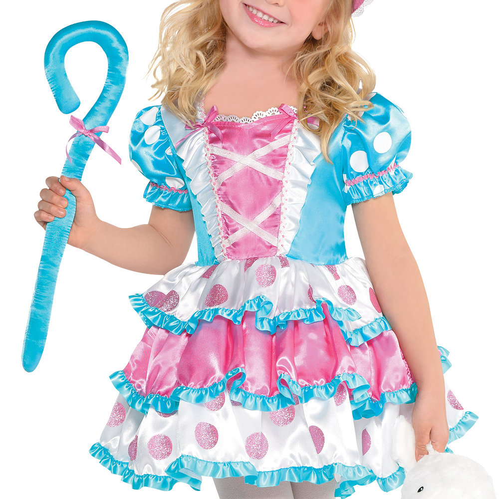 Girls Little Bo Peep Costume Image #2