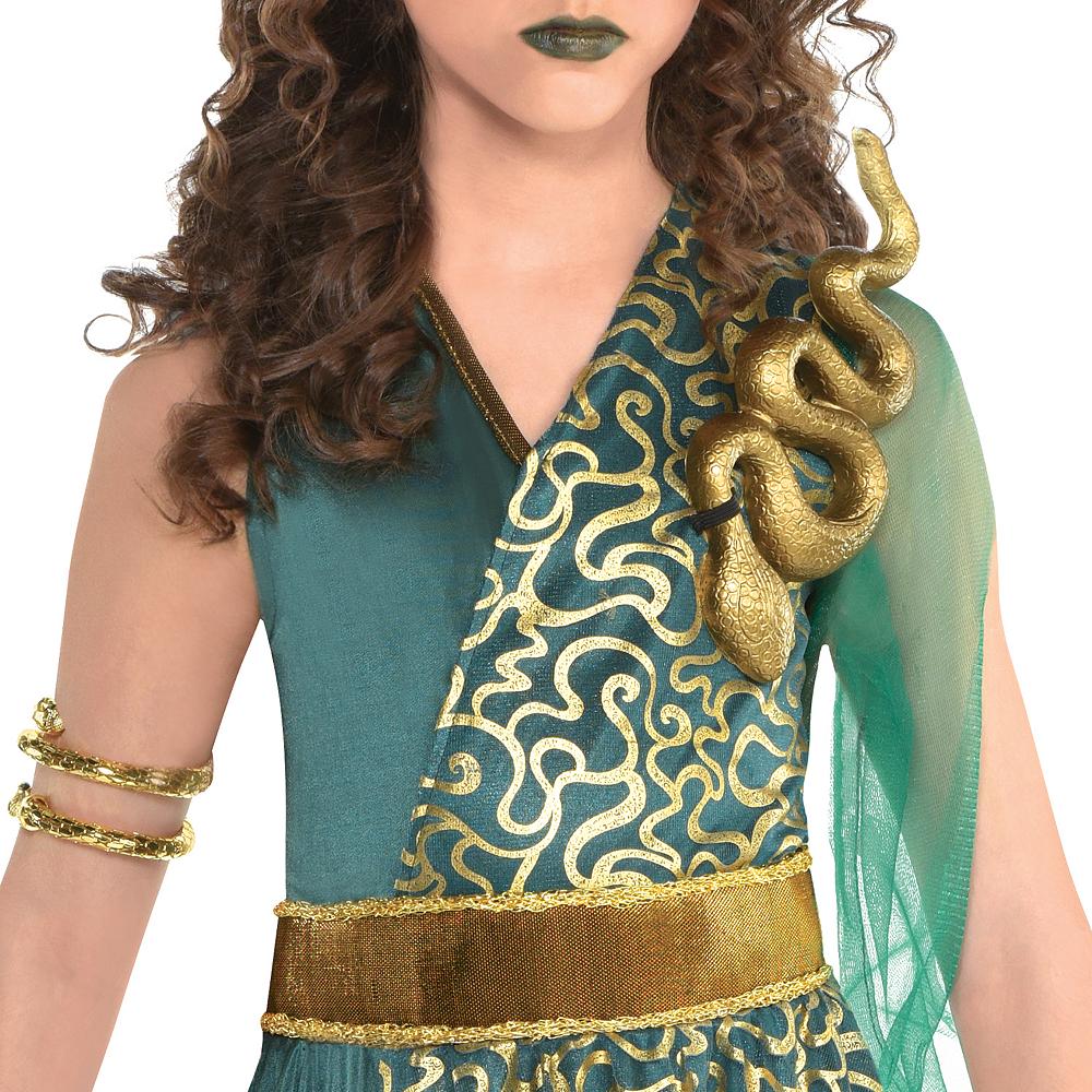 Girls Medusa Costume Image #3