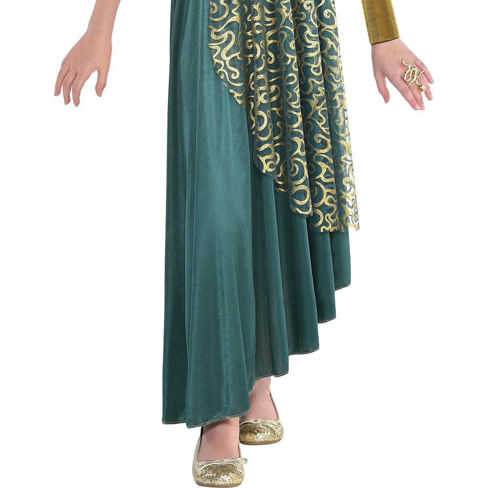 Girls Medusa Costume Image #4