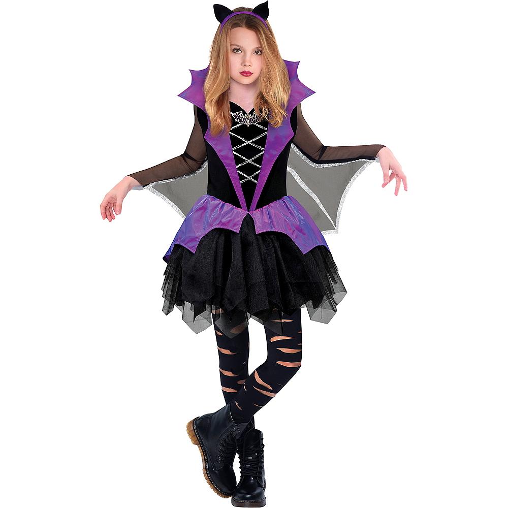 Girls Miss Batiness Vampire Costume Image #1