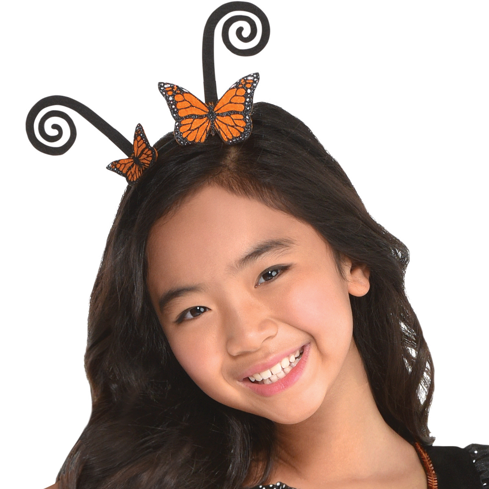 Nav Item for Girls Monarch Butterfly Costume Image #2