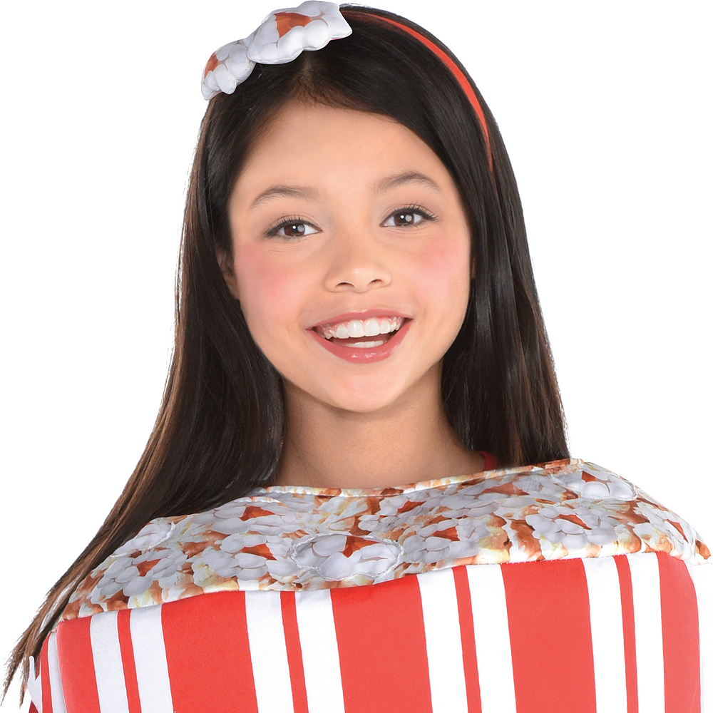 Nav Item for Girls Popcorn Costume Image #2