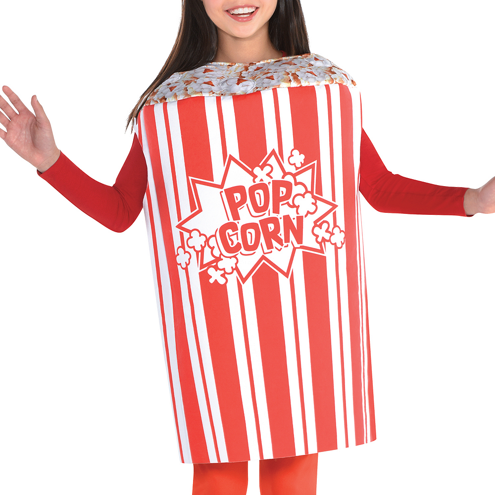 Nav Item for Girls Popcorn Costume Image #3