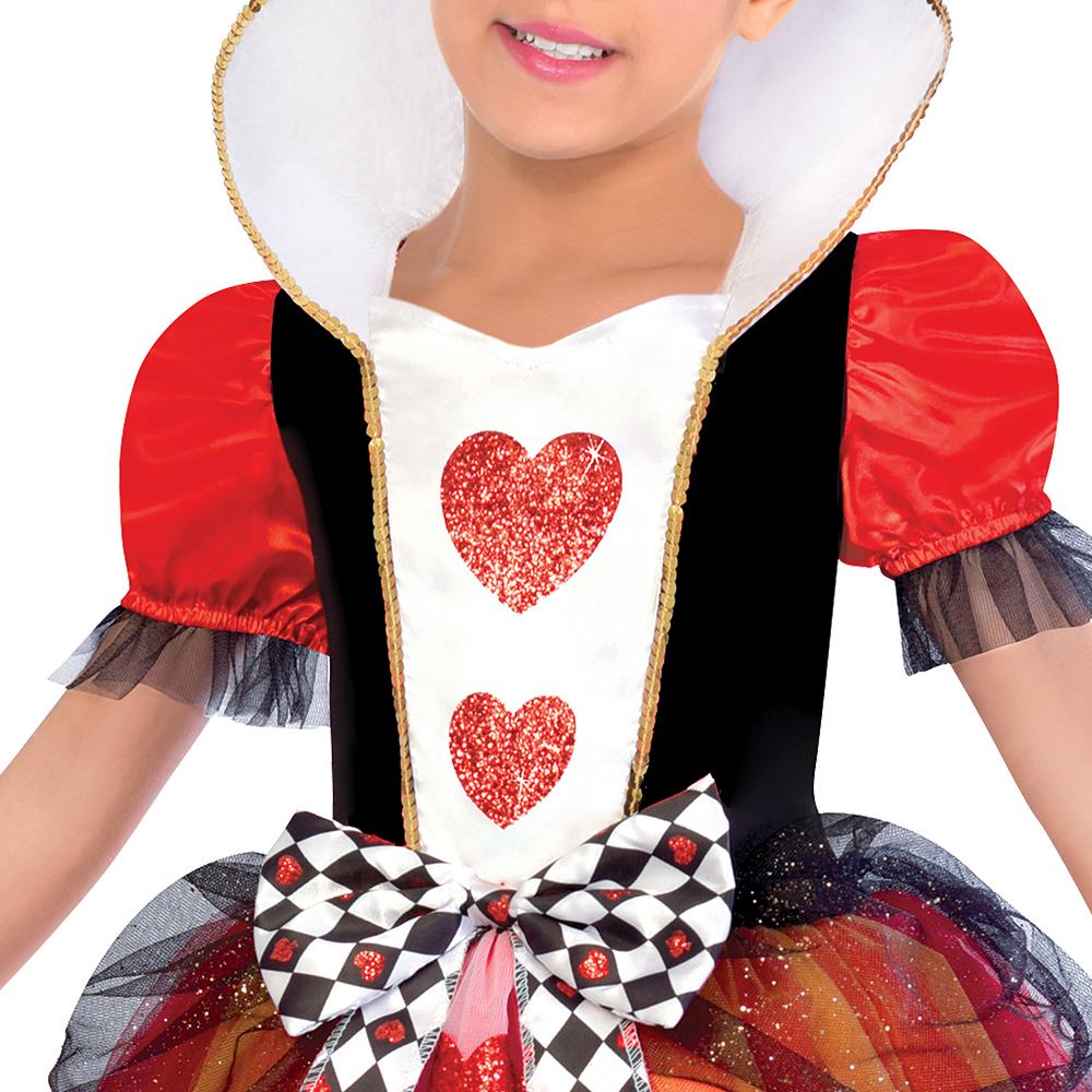 Girls Queen of Hearts Costume Image #3