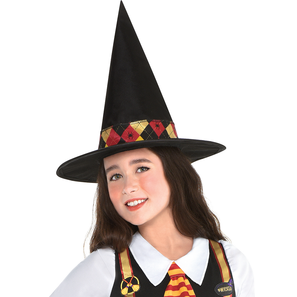Girls Witchy School Girl Costume Image #2