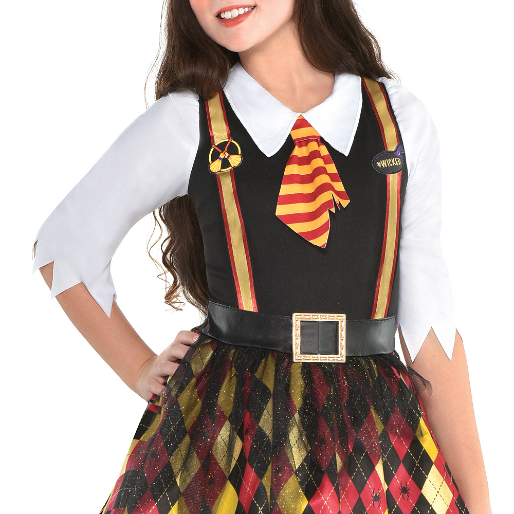 Girls Witchy School Girl Costume Image #3