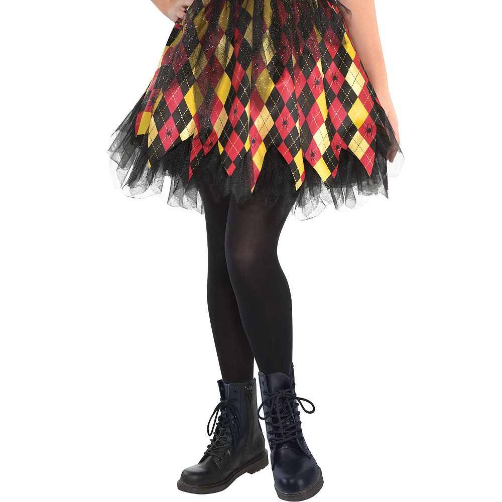 Nav Item for Girls Witchy School Girl Costume Image #4