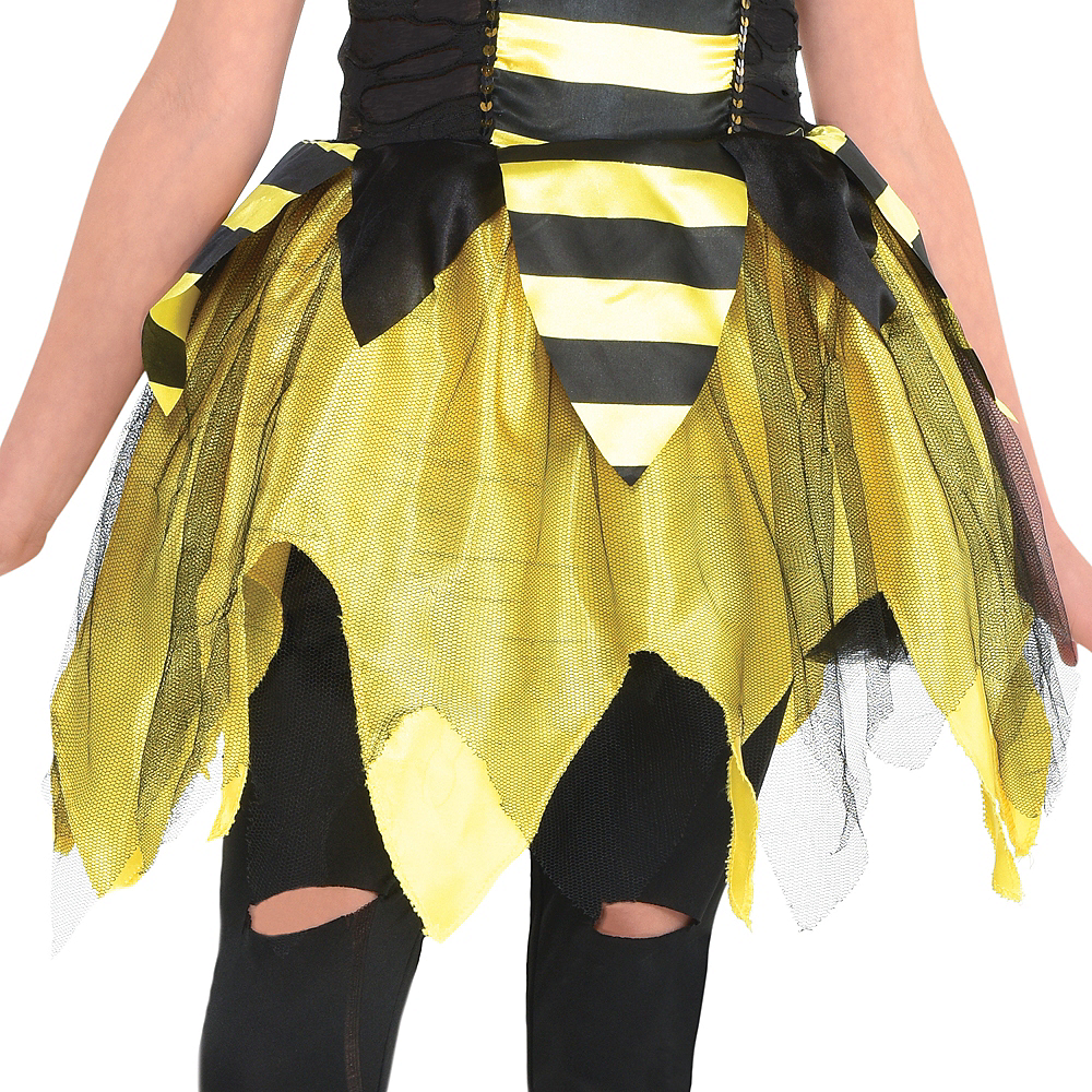 Girls Zom-Bee Costume Image #4