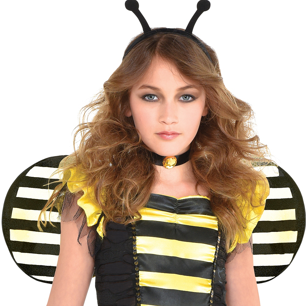 Girls Zom-Bee Costume Image #5
