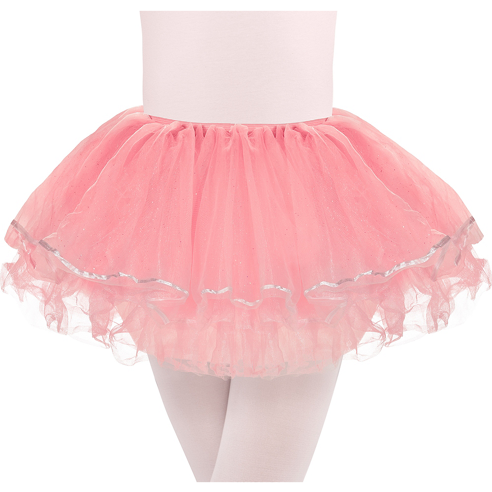Nav Item for Child Glitter Pink Tutu Image #1