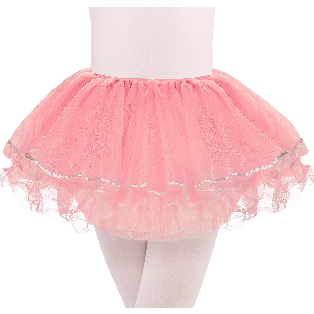 Child Glitter Pink Tutu Image #1