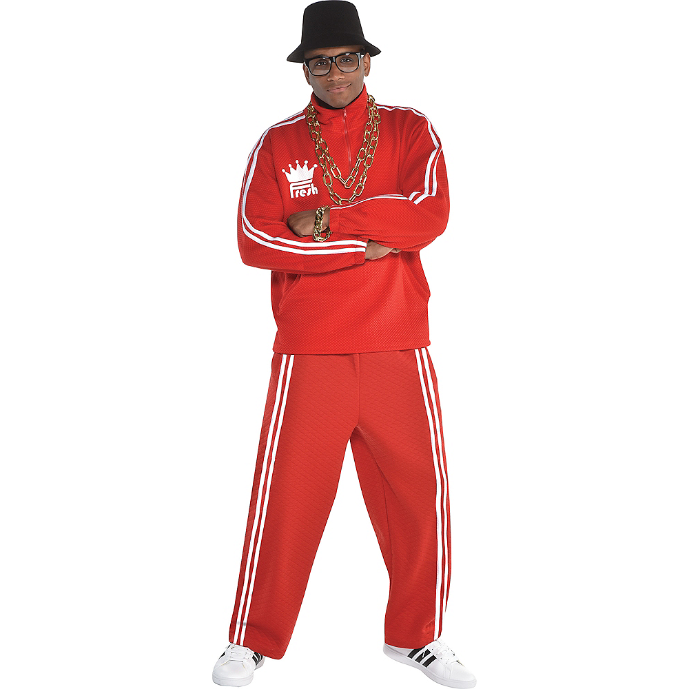 Adult Hip Hop Tracksuit Costume Accessory Kit Image #1