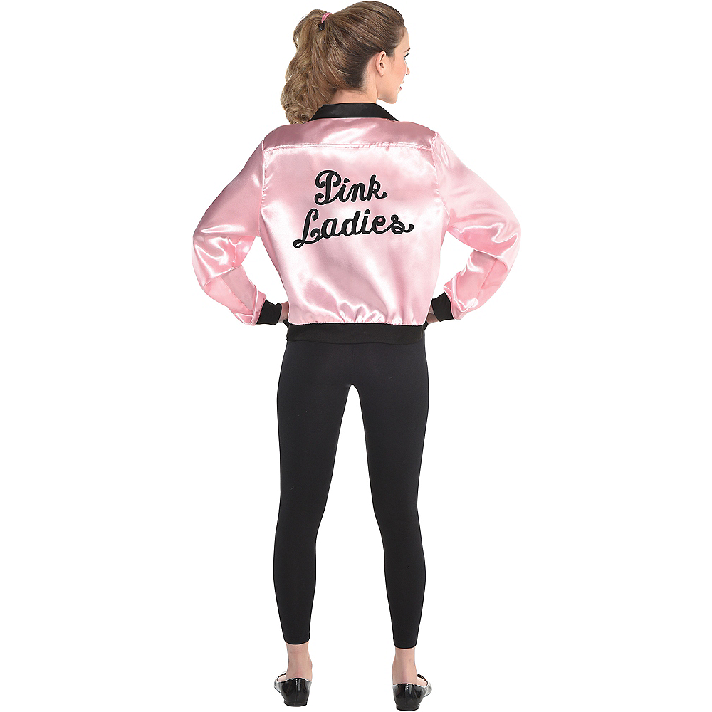 Womens Pink Ladies Jacket - Grease Image #2