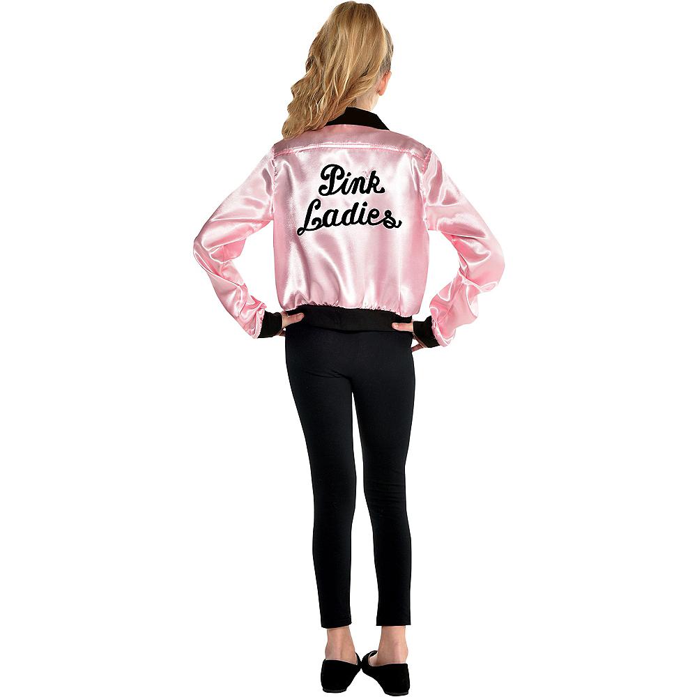 Girls Pink Ladies Jacket - Grease Image #2