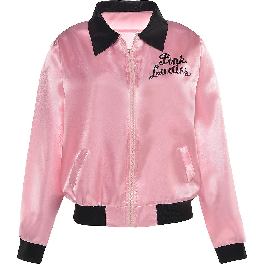 Girls Pink Ladies Jacket - Grease Image #3