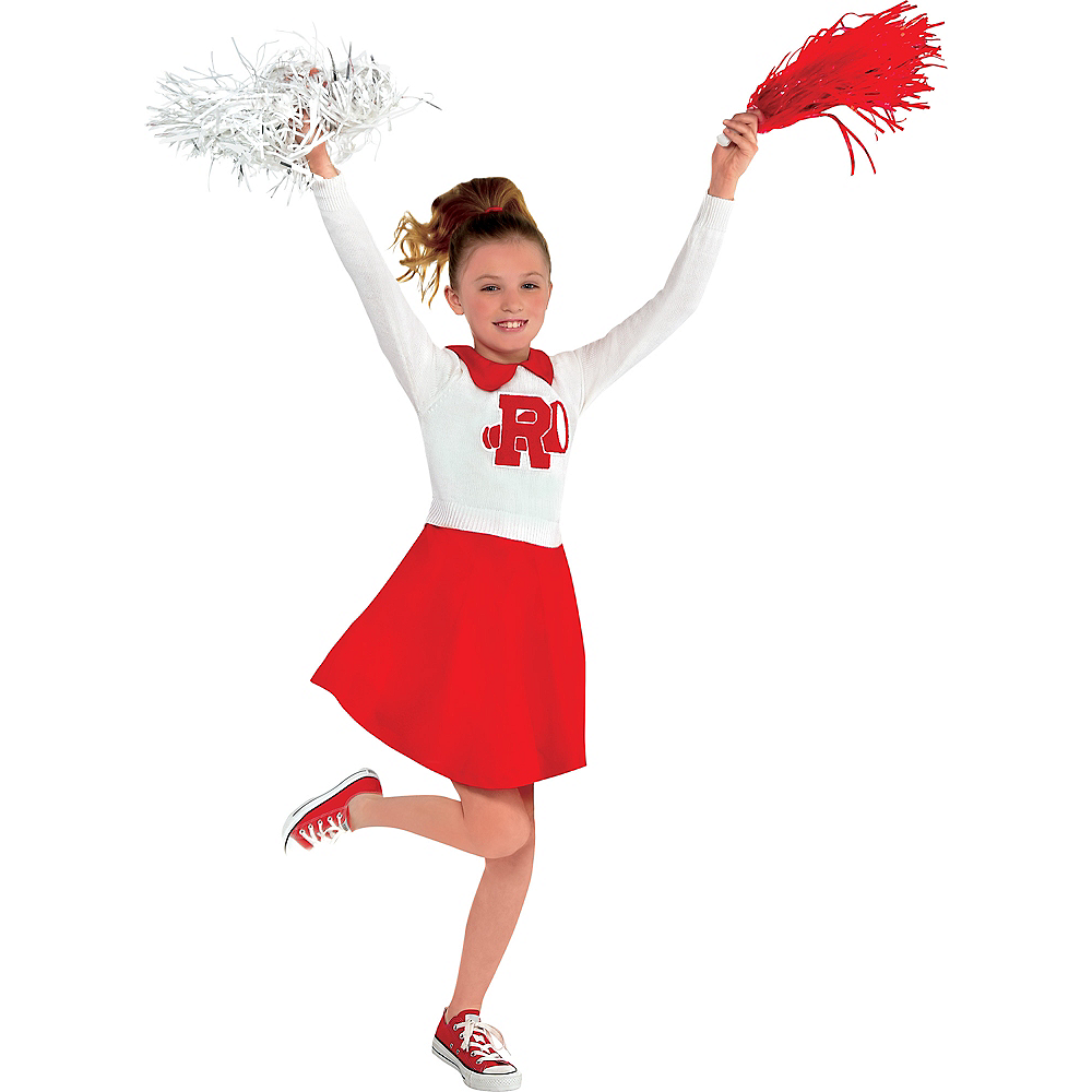Girls Rydell High Cheerleader Dress - Grease Image #1