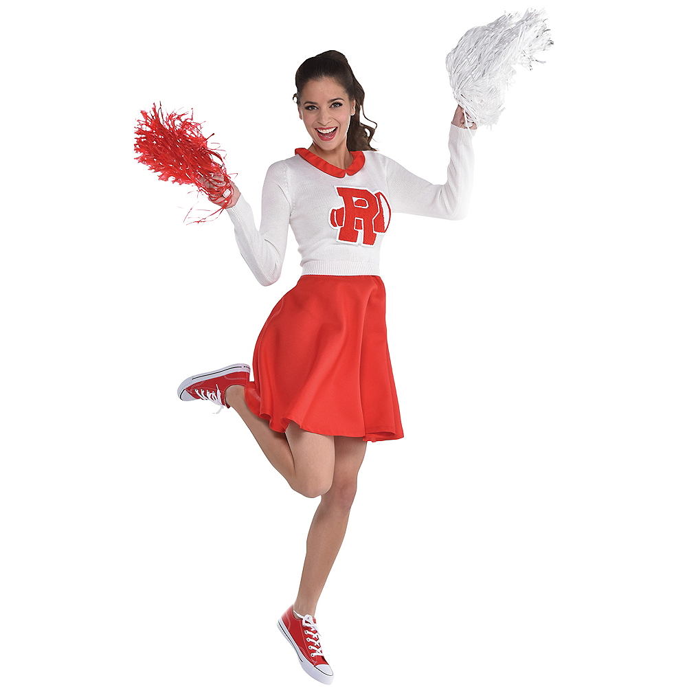 Womens Rydell High Cheerleader Dress - Grease Image #1