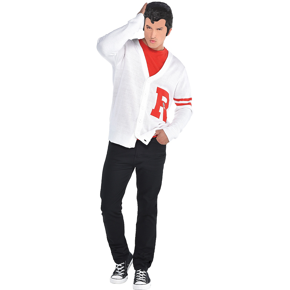 Mens Rydell High Letterman Sweater - Grease Image #1