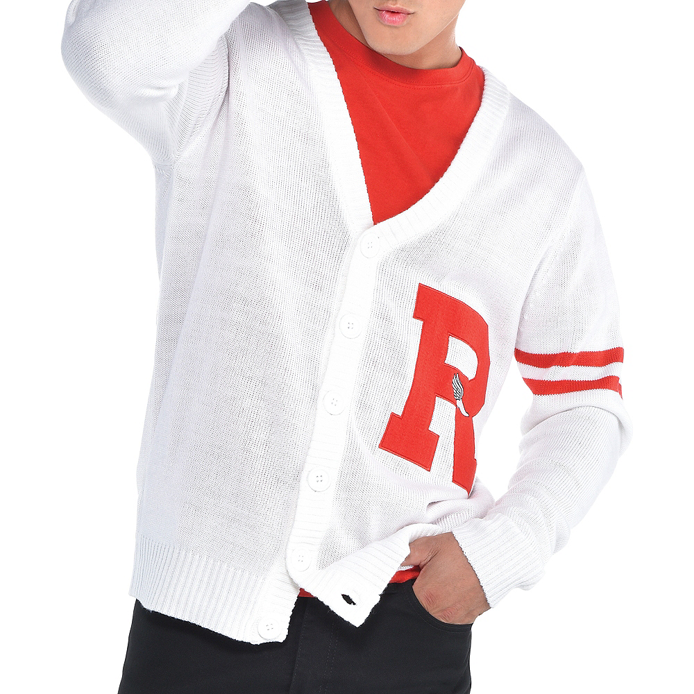 Mens Rydell High Letterman Sweater - Grease Image #2